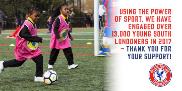 Palace for Life has worked with over 13,000 young people in 2017