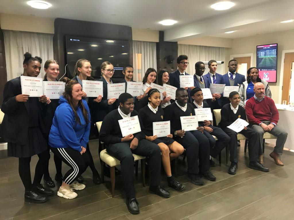 A group picture of the competitors at the PL Enterprise Challenge