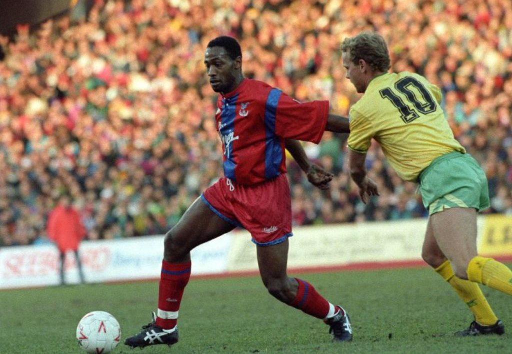 Andy Gray playing for Crystal Palace