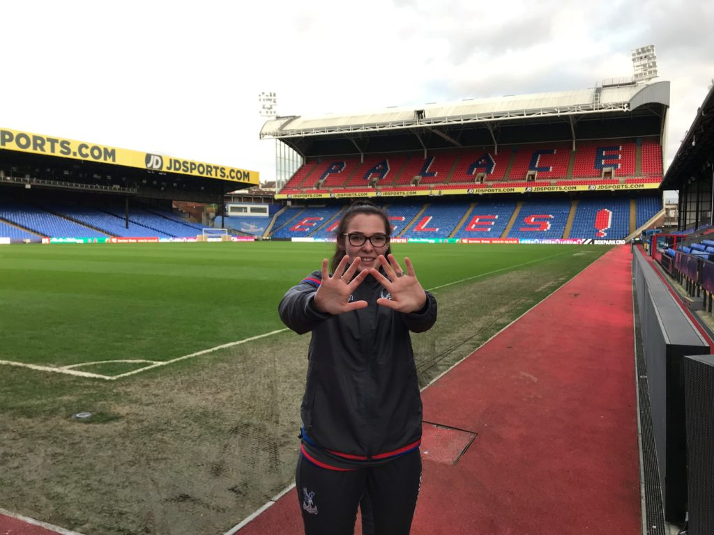 Angel at Selhurst Park