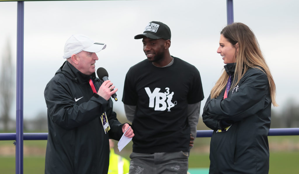 Yannick Bolasie at the PL Kicks Cup
