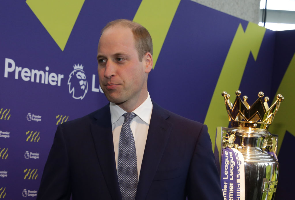 Prince William at the event