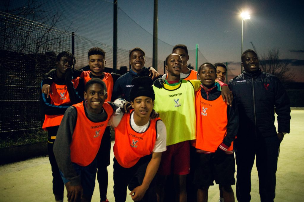 Zaha at a Kicks session