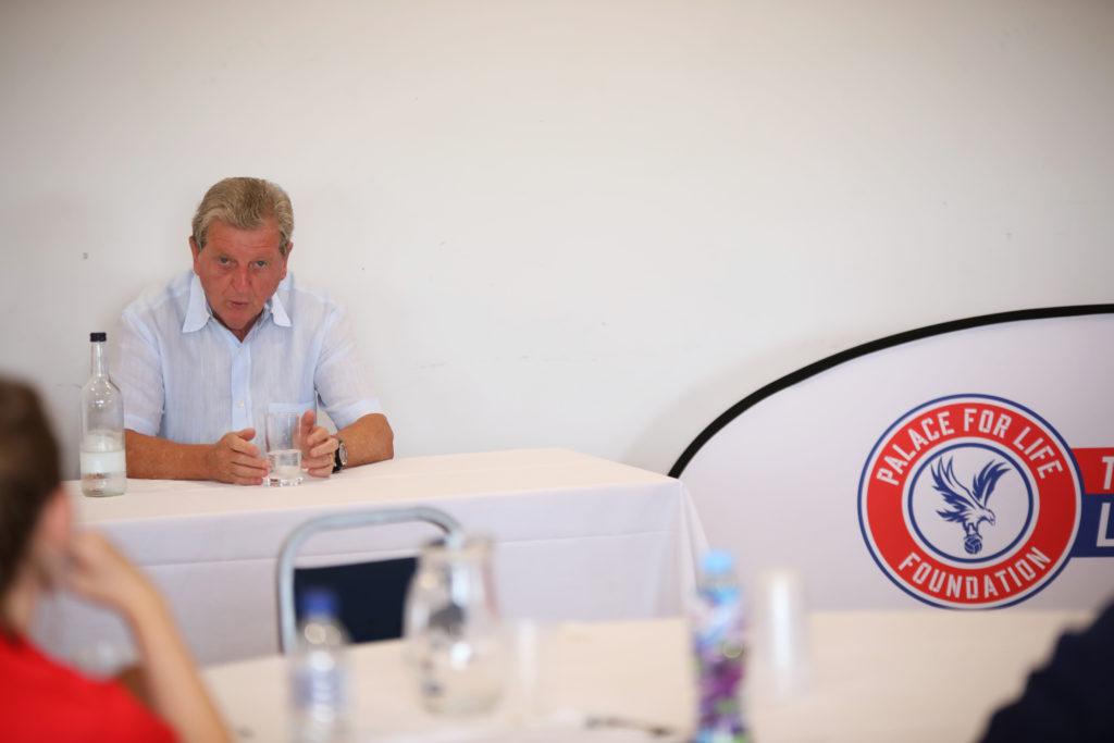 Roy Hodgson speak to Foundation coaches