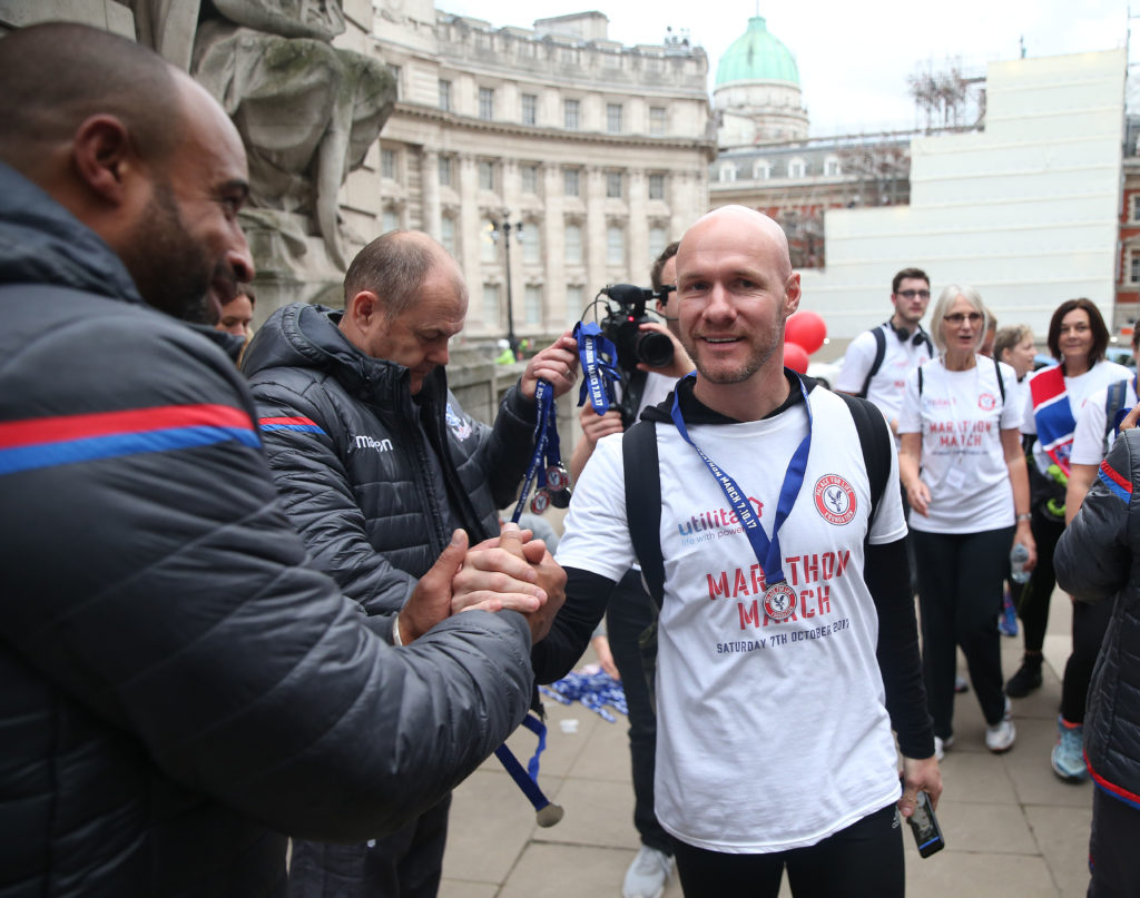 Andy Johnson on the Marathon March