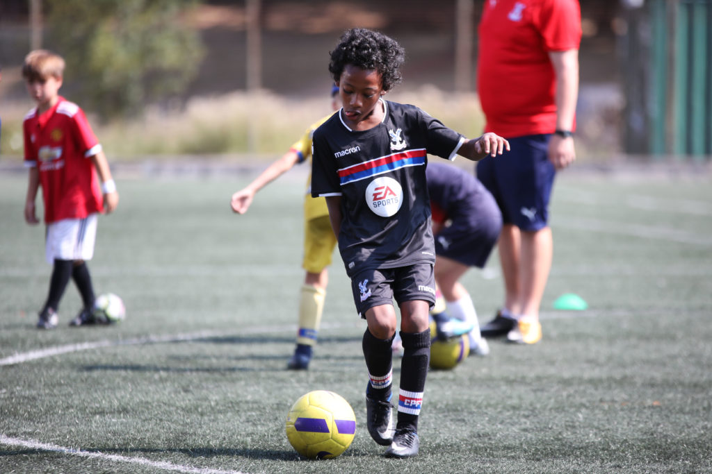 Child at Soccer School