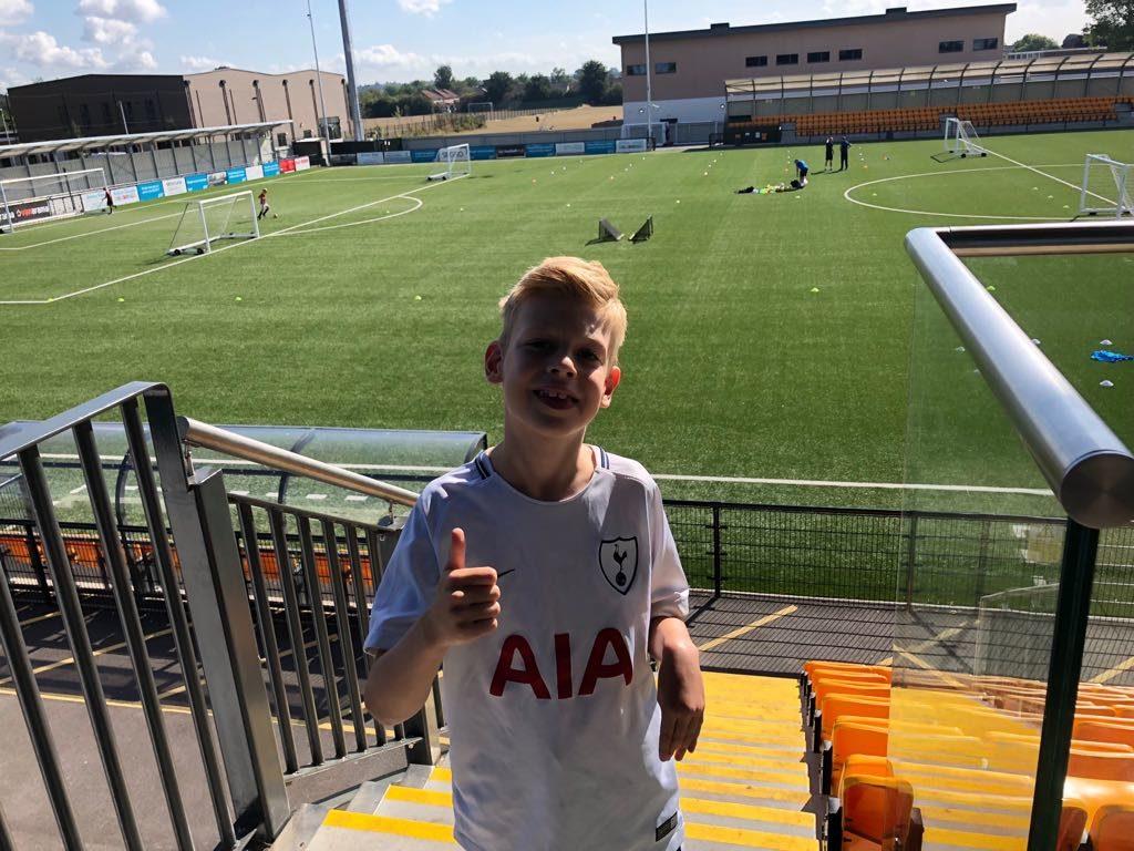 Archie at FA Trials