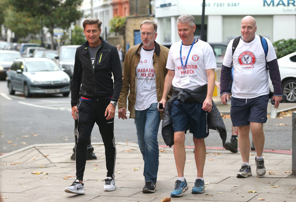 Steve Parish on Marathon March