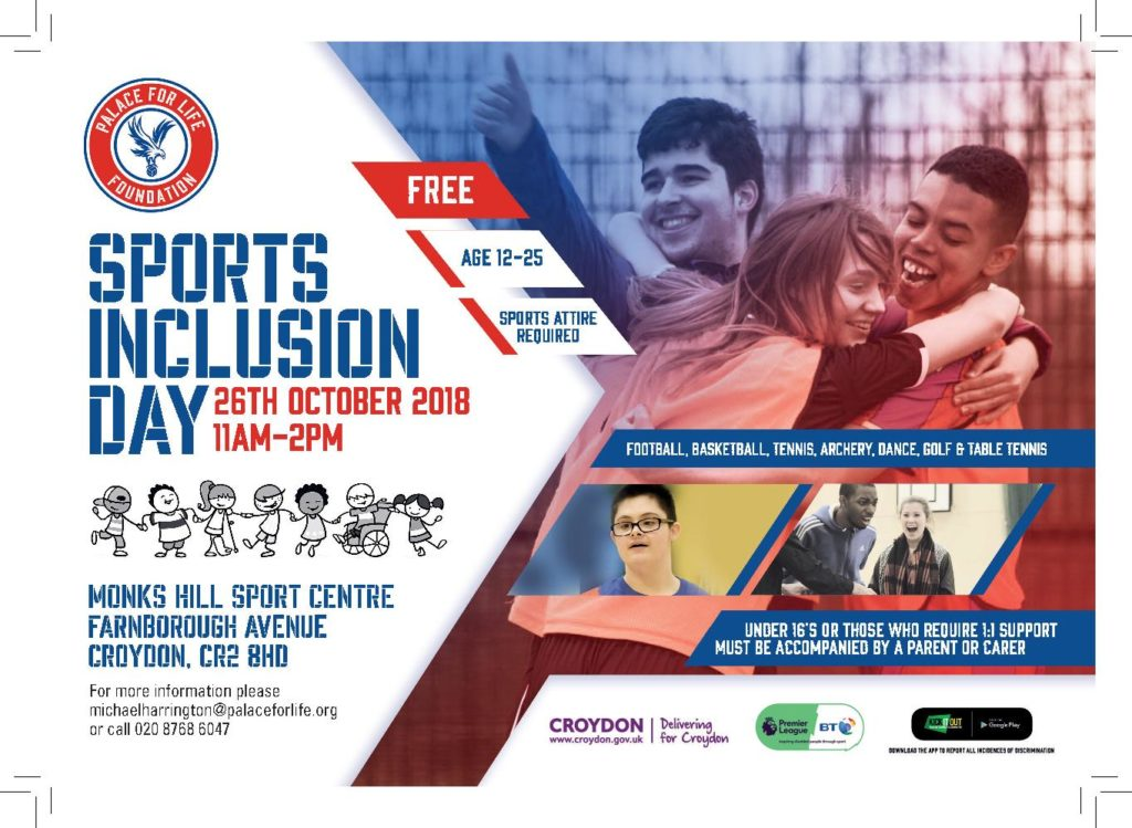 Sports Inclusion Day 2018 Flyer