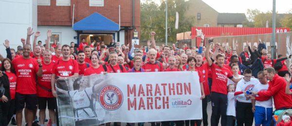 Marathon March 2018 start line