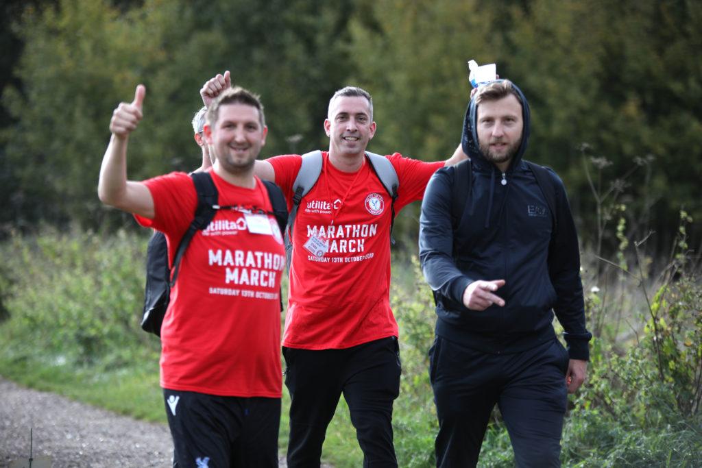 Marathon March 2018 walkers