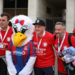 Palace and Fulham fans unite for mental health awareness